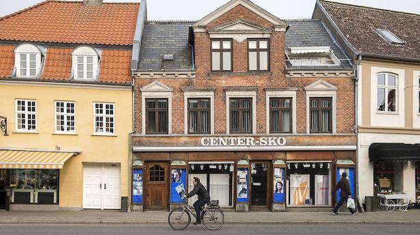 Hver anden danske handelsby er væk om ti år