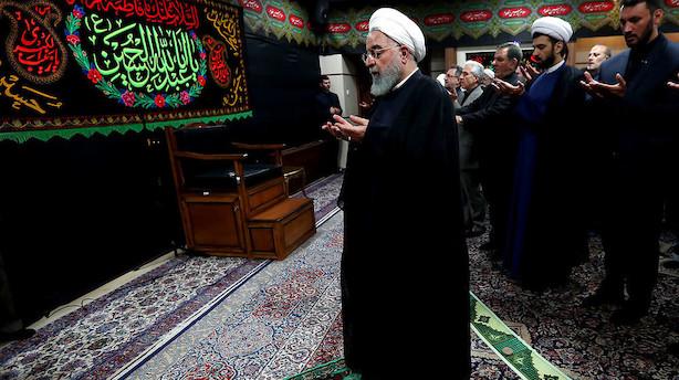 Irans præsident advarer Trump og nægter nedrustning i tale