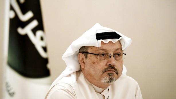 Avis: CIA udpeger kronprins som ansvarlig for Khashoggi-drab