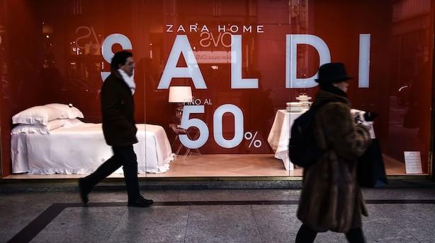 Chefstrateg: Frygt for recession kan bremse europæiske rentestigninger