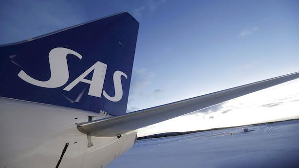 SAS-regnskab ramt af høje brændstofpriser og svag valuta