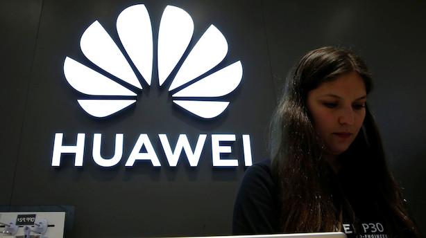 Det Hvide Hus åbner for genoptagelse af handel med Huawei