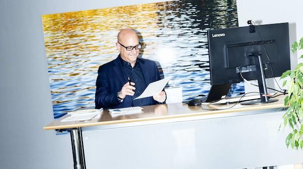 """Chr. Hansen-chef efter stort aktiedyk: """"I den sidste ende vil vi komme ud som et stærkere selskab"""""""