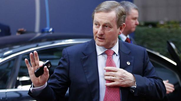 Irsk premierminister: Britisk farvel til EU truer Nordirland