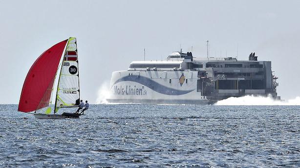 Mols-Linien bestiller færge til ny Bornholm-rute