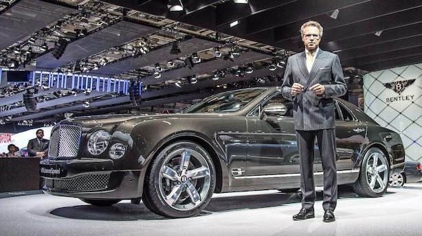 Bentley-boss: Vi kommer med en mindre model