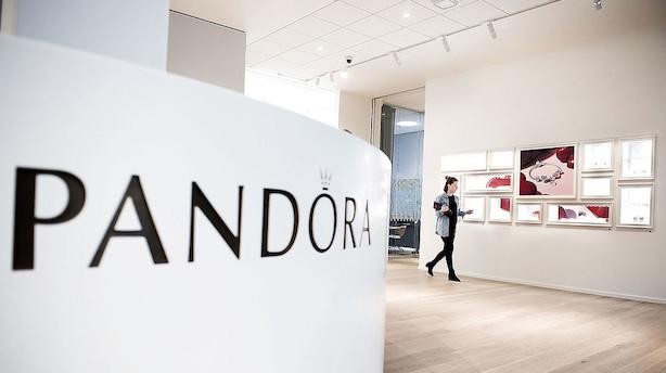 Aktier: Pandoras genrejsning sikrede C20-rekord