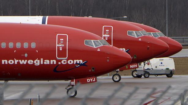 Norwegian-aktien er under hård belejring af kritiske investorer