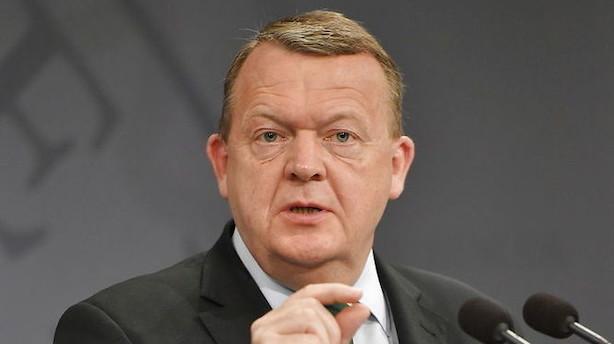Løkke præsenterer nye ministre klokken 11