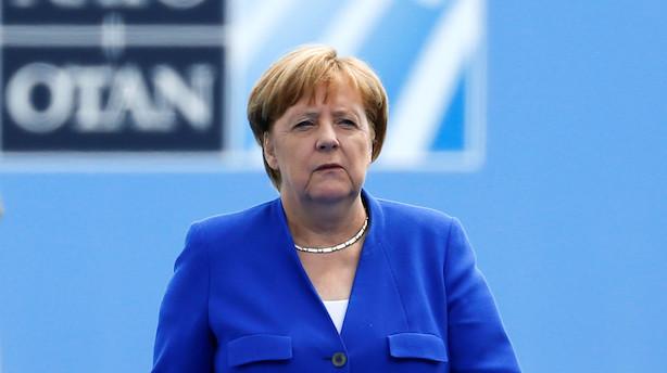 Merkel: Tyskland er ikke kontrolleret af Rusland