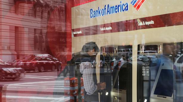 Aktier: Flot bankregnskab løfter ikke New York-børserne