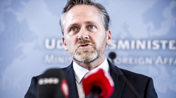 Samuelsen: Dansk ambassadør hjemkaldes fra Iran - nye EU-sanktioner skal overvejes