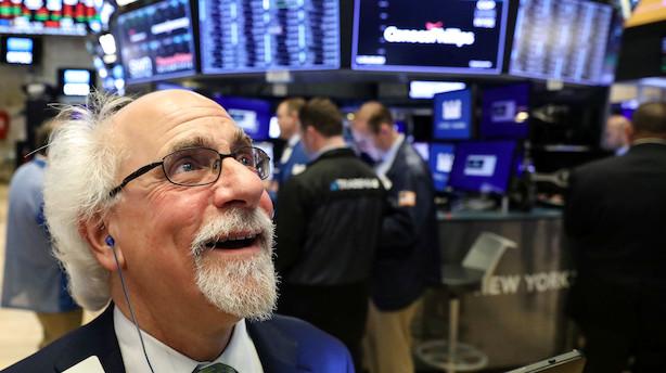 S&P 500-indekset flirtede med rekord