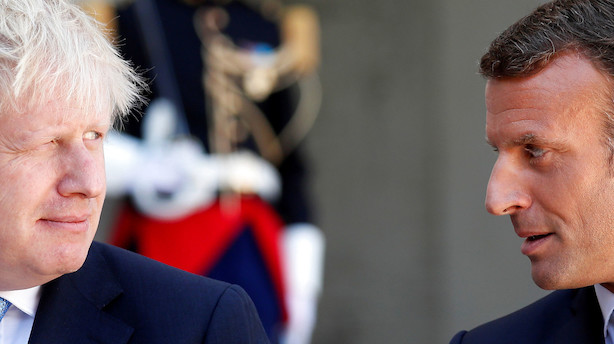 Analyse: Macron og Merkel giver Boris Johnson 30 dage til at finde en brexit-løsning - men det redder ham ikke