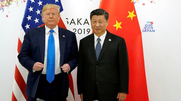 Trump gengælder kinesisk straftold: Hæver tolden på varer fra Kina for 550 mia dollar