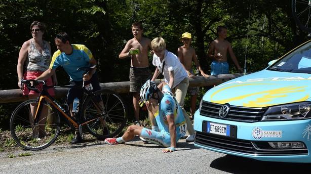 Jakob Fuglsang: Shit happens