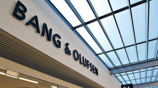 Nordea anbefaler at sælge Bang & Olufsen-aktier