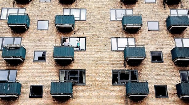 Københavnerne har mindst plads at bo på af alle - og pladsen bliver kun mindre