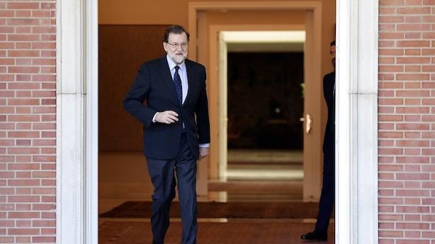 Catalanske banker atter i vælten efter Rajoy-udtalelser