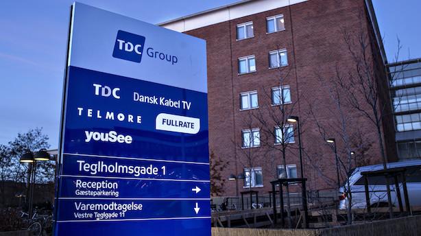 Finanshus ser ringe sandsynlighed for modbud på TDC