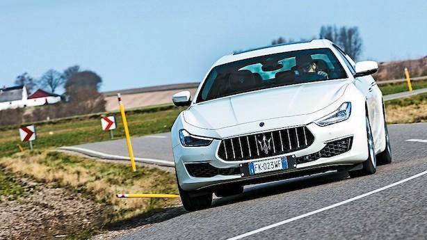 Test: Olm Maserati er bedst i høj fart