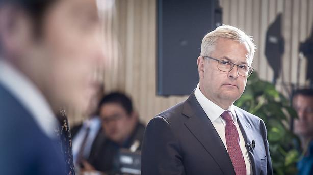 Tæsk til Mærsk-aktien efter halvsløjt regnskab: Dykker med 10 pct.