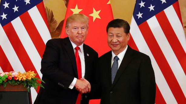 """Kineserne svarer igen på amerikansk toldmur: """"Trump ved, at han er oppe mod en formidabel modstander"""""""