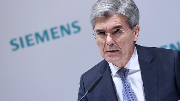 Siemens udsætter saudiarabisk kontrakt til trecifret milliardbeløb