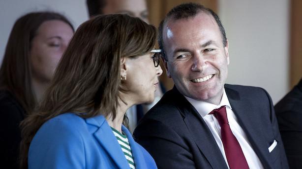 Konservativ spidskandidat og favorit til EU-Kommissionen: Vi støtter kvotehandel og CO2-budgetter