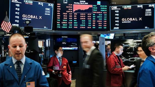 Handelskrig spøger: Amerikanske aktiemarkeder falder tungt