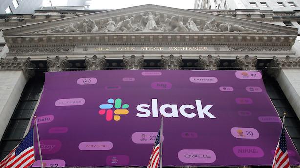 Amerikansk softwareselskab debuterer med kursfest - stiger 57 pct