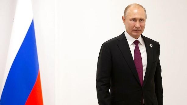 Putin kalder Vestens liberale værdier forældede