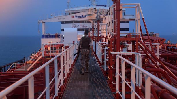 Briter: Europæisk mission skal beskytte skibe i Hormuzstrædet