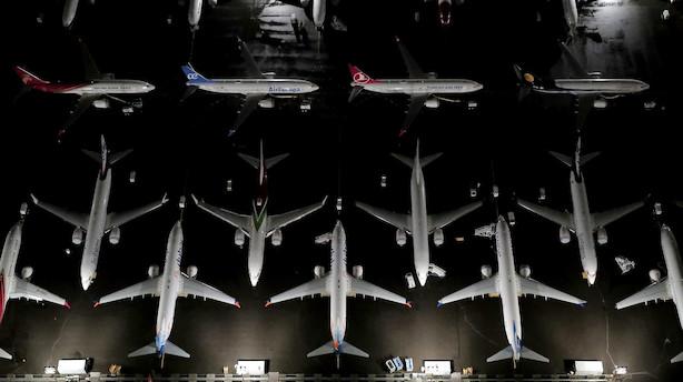 Kreditagentur ser mere dystert på Boeing