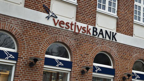 Vestjysk Bank indfører negative renter for indlån