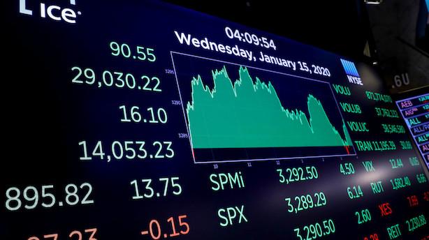 Verdens største hedgefond advarer om dyre amerikanske aktier