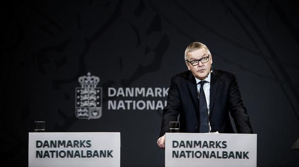 Nationalbanken løfter indlånsrenten