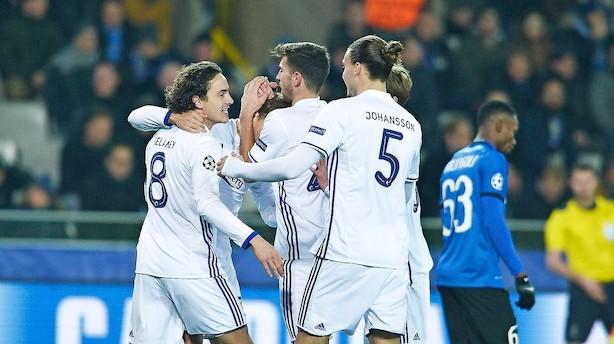 FCK vandt skæbnekamp i Belgien - men er ude af Champions League