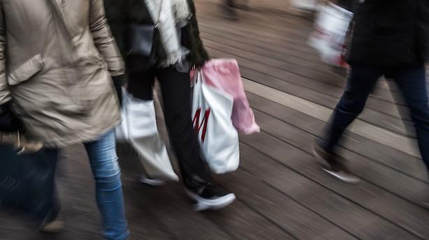 Forbrugertillid i eurozonen er næsten historisk høj