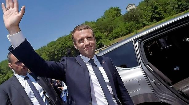 Økonomer: Macron-triumf kan hive Frankrig op af økonomisk sump