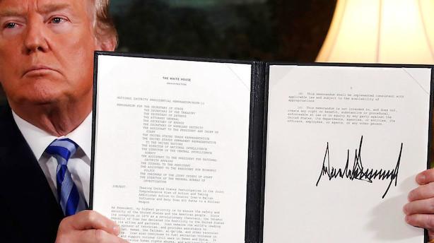 DI: Tvivl om atomaftale påvirker dansk eksport mærkbart