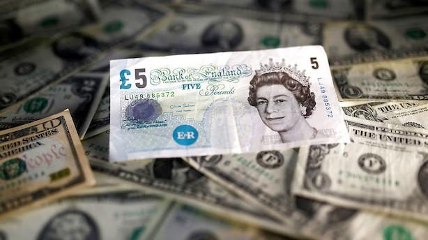Valuta: Yen svækkes og pund fortsætter torsdagens nedadgående spiral