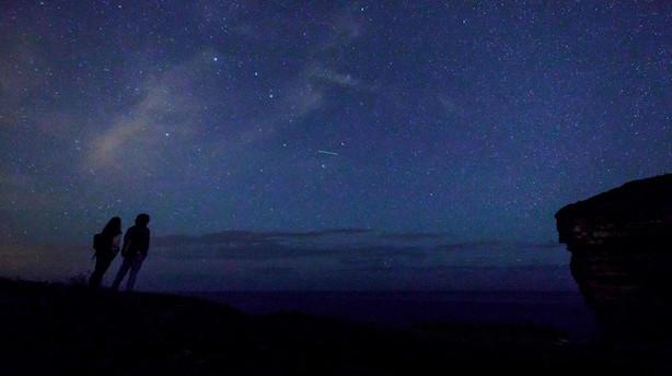 Årets største stjerneskudsstorm rammer nattehimlen