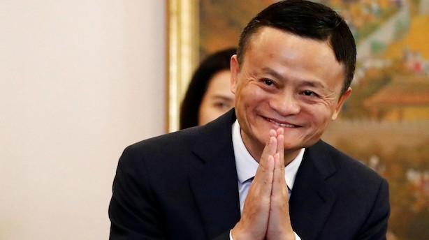 Alibabas Jack Ma træder tilbage