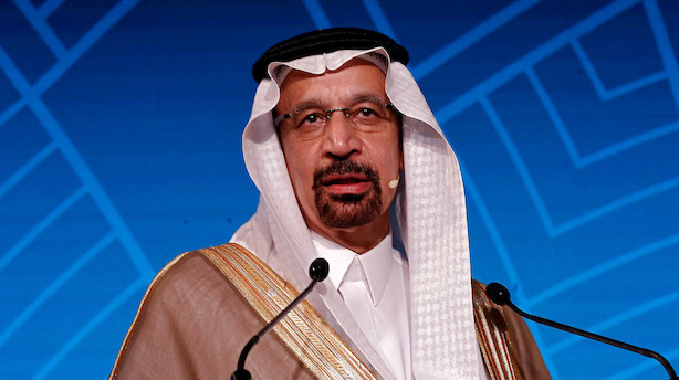 Saudisk energiminister: Stadig for tidligt at love sænket olieproduktion