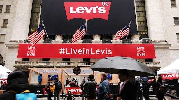 Stærkt børscomeback til Levi Strauss & Co