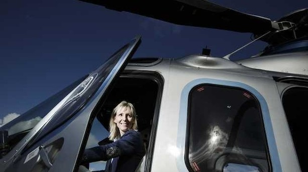 Helikopterkvinde fra Esbjerg indkasserer nyt milliontab og tilfører friske millioner til Bel Air Aviation