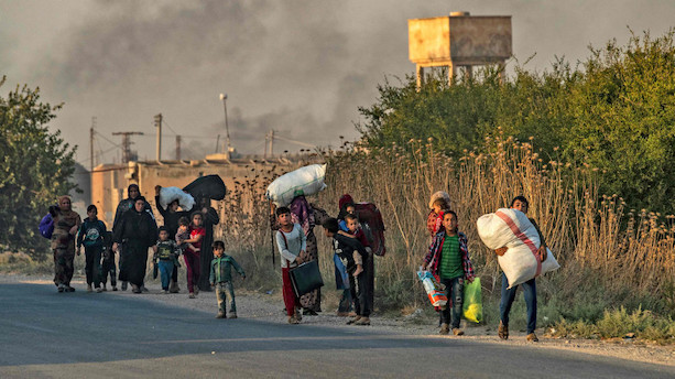 Tyrkiske styrker har ramt 181 mål i det nordøstlige Syrien