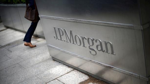 JPMorgan flytter overskydende likviditet i langfristede obligationer