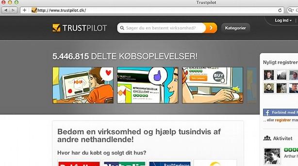 Trustpilot kåret til årets startup-virksomhed